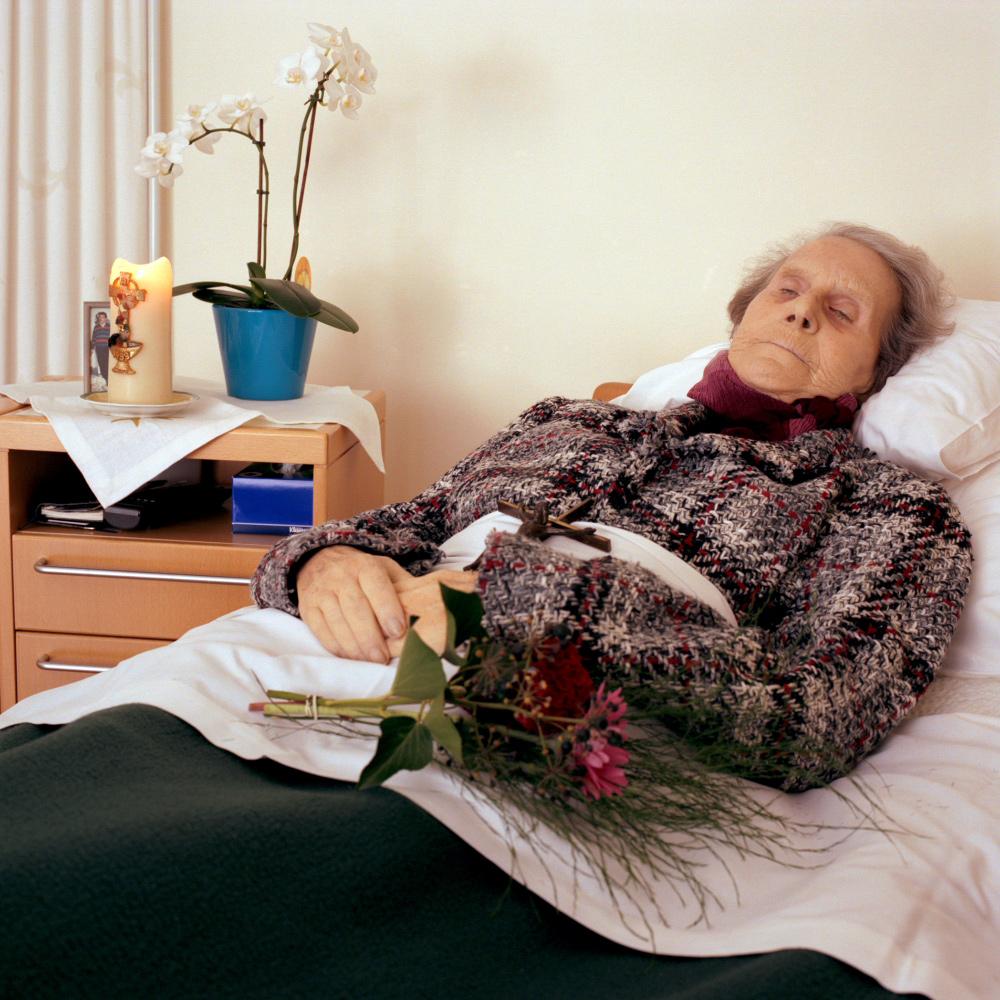Foto Edith Gerritsma Serie Leven naar de Dood- Atie