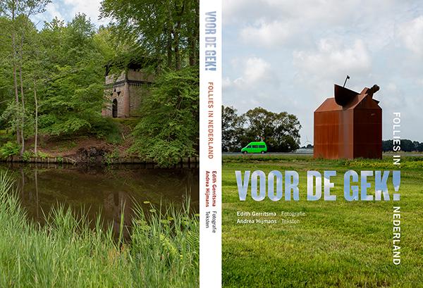 Cover Boek Voor de Gek Follies in Nederland